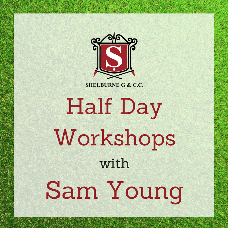 Half Day Golf Workshops with Sam Young