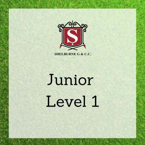 Junior - Level 1