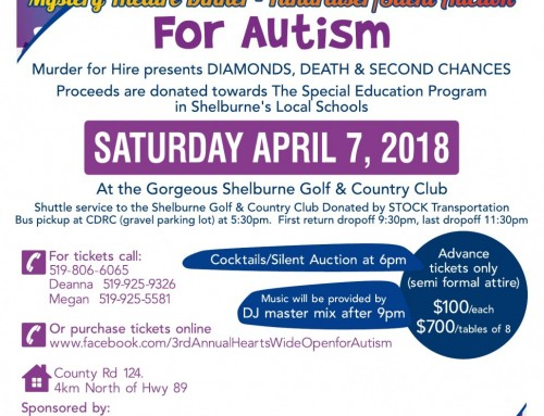 3rd Annual Hearts Wide Open for Autism – Charity Fundraiser Tickets