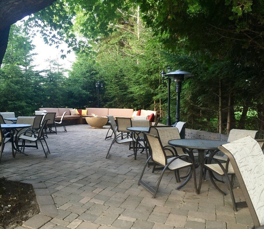 Patio is available for private functions and weddings