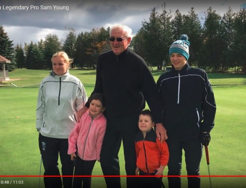 Road School – A Golf Lesson with Sam Young