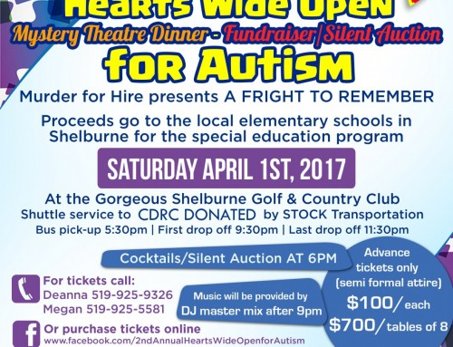 2nd Annual Hearts Wide Open for Autism – Charity Fundraiser Tickets
